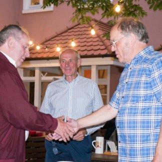 Charly Pfeifer, Doug Aylward and Jack Waterfall